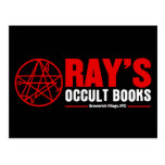 Ray's Occult Book Shop Post Cards