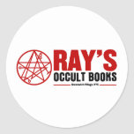 Ray's Occult Book Shop Stickers