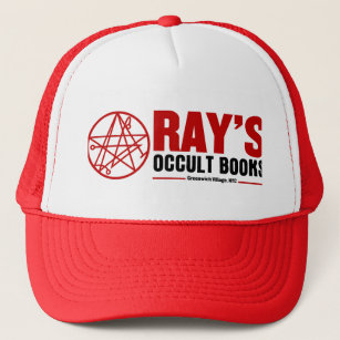 a2ba80a165bd6 Ray s Occult Book Shop Trucker Hat