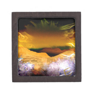 Rays Of Joy Sunrise Jewelry Box