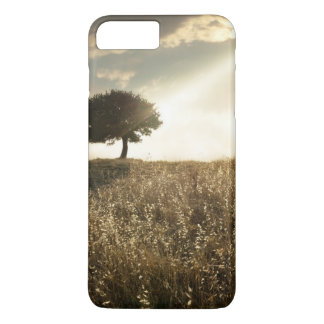 Rays of light break through the dramatic sky iPhone 7 plus case