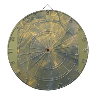 Rays of Light Dartboard With Darts
