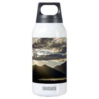 RAYS OF LIGHT OVER THE GRAND TETONS INSULATED WATER BOTTLE