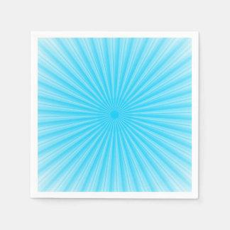 Rays Of Light Pattern Standard Cocktail Napkin