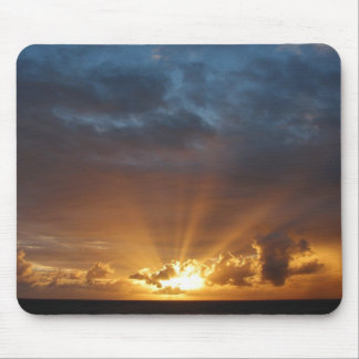 Rays of the Sun at Dawn Mousepad