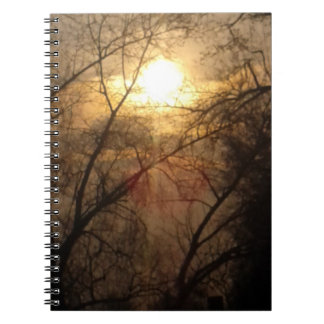 Rays of the Sun Spiral Notebook