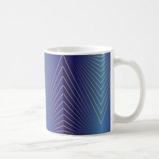 Rays on Sapphire Coffee Mug