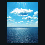 "Rays over the Sea Letterhead<br><div class=""desc"">Sun rays over the open sea</div>"