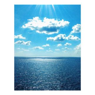 Rays over the Sea Letterhead