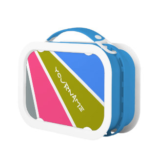 Rays Pattern custom lunch boxes