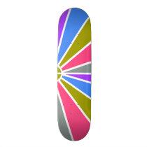 Rays Pattern skateboards