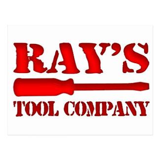 Ray's Tool Company Postcard