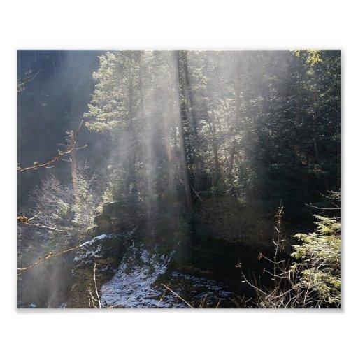 Rays upon us 10x8 Photographic Print