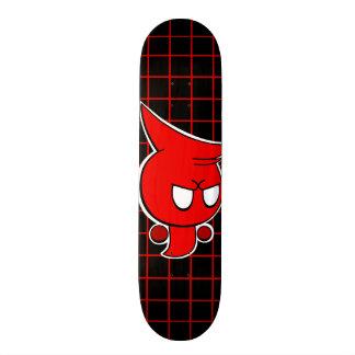 Rayshine GHOST TOON™ Red Ghost Skateboard Deck