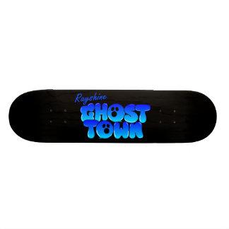 Rayshine GHOSTTOWN™ Black Skateboard