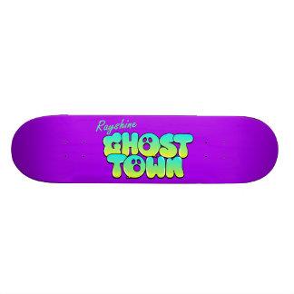 Rayshine GHOSTTOWN™ Purple Skateboard