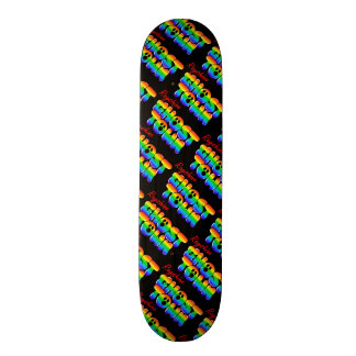 Rayshine GHOSTTOWN™ Rainbow black Skateboard