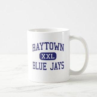 Raytown - arrendajos azules - alto - Raytown Misso Tazas De Café