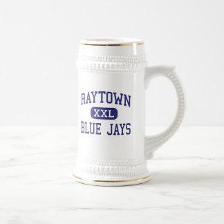 Raytown - arrendajos azules - alto - Raytown Misso Tazas