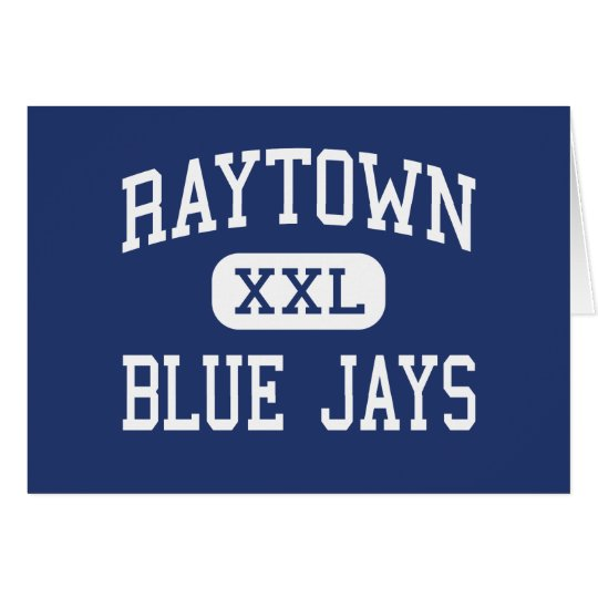 Raytown Blue Jays Middle Kansas City Card