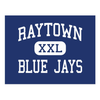 Raytown Blue Jays Middle Kansas City Postcard