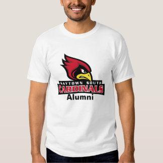 Raytown Cardinals Head Text, Alumni Shirt