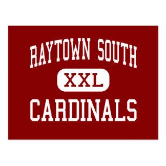 Raytown South - Cardinals - High - Raytown Postcard