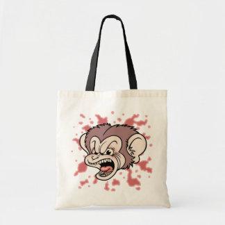 Raz Putin, The Mad Monkey Tote Bag