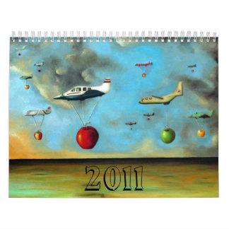Raza asombrosa, 2011 calendarios de pared