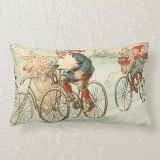Raza de bicicleta de julio de dios - almohada cojín lumbar