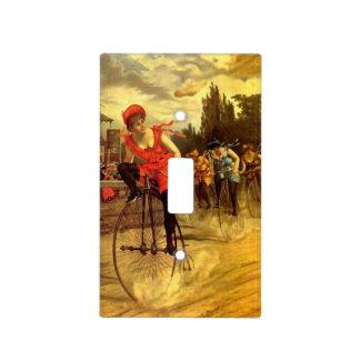 Raza de bicicleta de señora Bike del vintage de la Placa Para Interruptor
