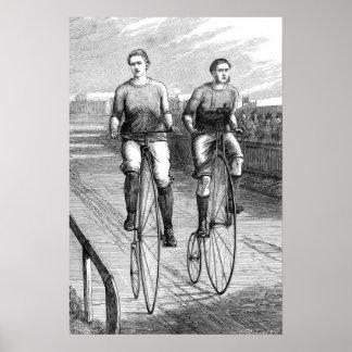 Raza de bicicleta del Victorian Posters