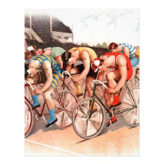 Raza de bicicleta membretes personalizados