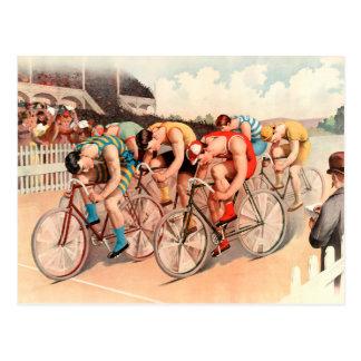 Raza de bicicleta postal