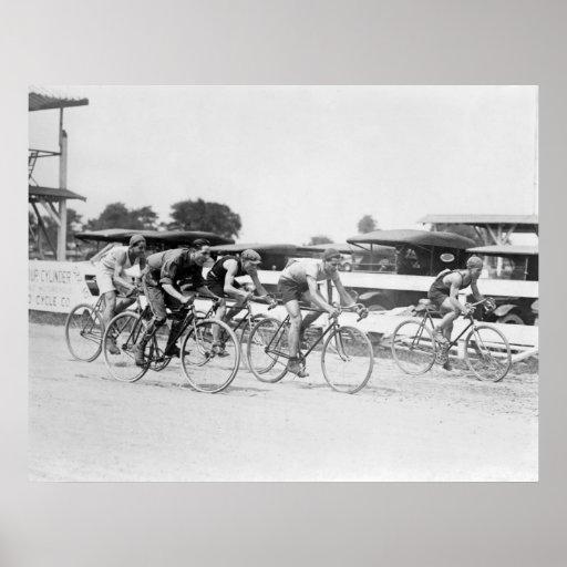 Raza de bicicleta, Washington, C.C.: 1925 Posters