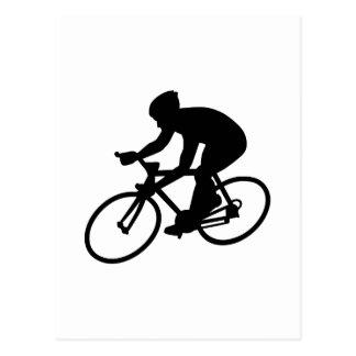 Raza de ciclo tarjetas postales