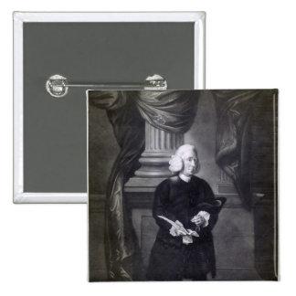 Raza de Daniel, grabada por James Watson, 1773 Pin Cuadrado