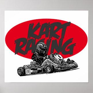 Raza de Karting Póster