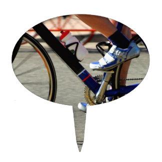 Raza de la bici figuras para tartas