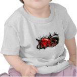 Raza de la bici camisetas