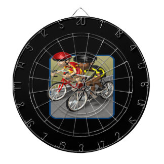 Raza de la bici tabla dardos