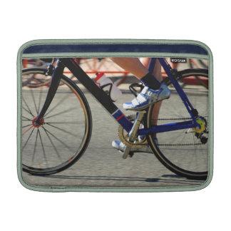 Raza de la bici funda para macbook air