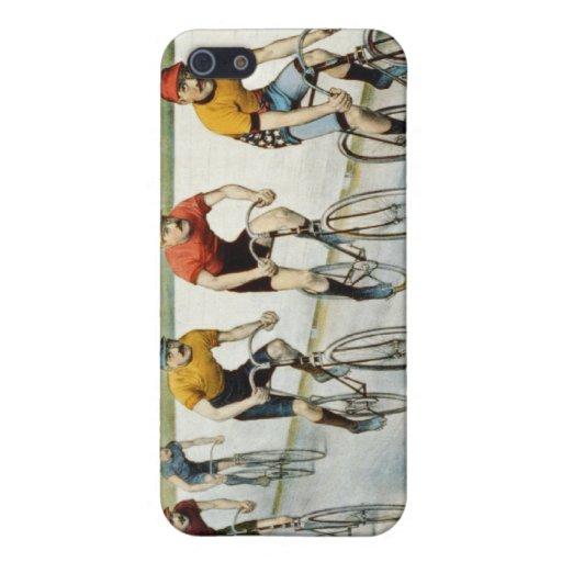 Raza de la bici iPhone 5 protector