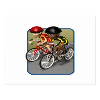 Raza de la bici postal
