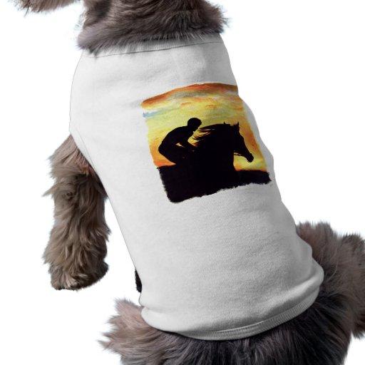 ¡Raza de la noche! Camisa De Perro