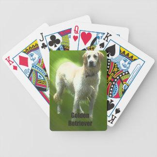 Raza de Marley del golden retriever Baraja Cartas De Poker