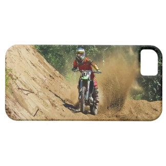 Raza del campeón de la Suciedad-Bici del motocrós Funda Para iPhone 5 Barely There