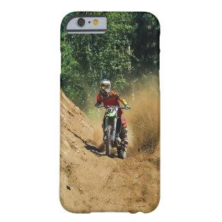 Raza del campeón de la Suciedad-Bici del motocrós Funda Para iPhone 6 Barely There