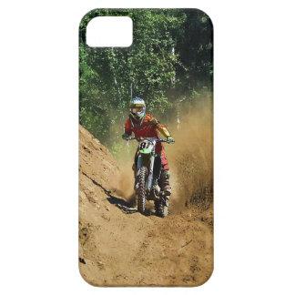 Raza del campeón de la Suciedad-Bici del motocrós iPhone 5 Carcasa