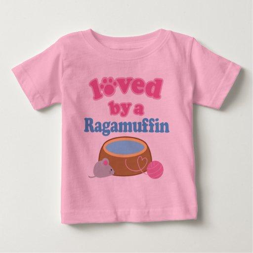 Raza del gato del Ragamuffin amada por un regalo Playera